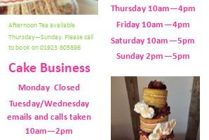New Opening Hours